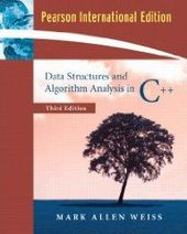Buy me a book - Data Structures And Algorithm Analysis In C